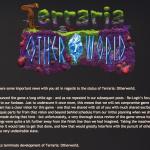 【悲報】Terraria: Other World開発中止を公式フォーラムで告知